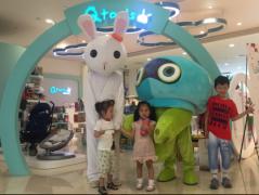 Gululu携手Qtools全国数百家门店陪伴孩子过六一