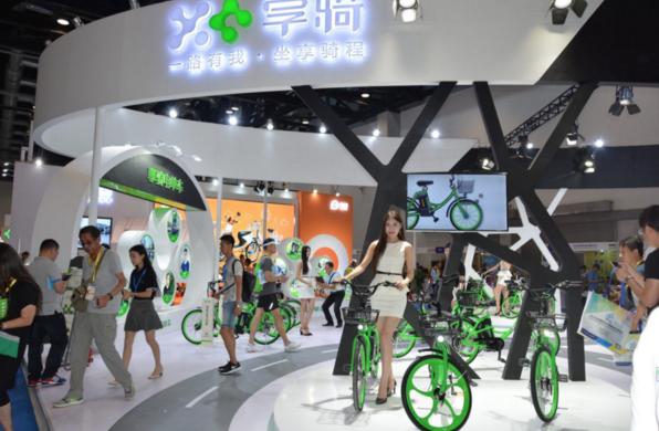 北京自行车展,共享电单车享骑无线充电科技成焦点