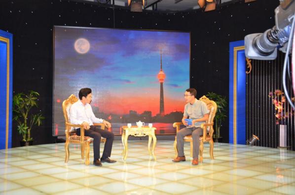 北京远为软件黄玉琪董事长做客央视《领航》栏目